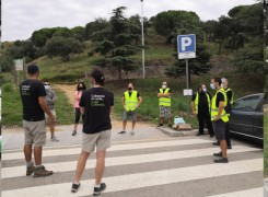 Voluntarios de Barcelona Forum District recogen 287 kg de residuos en la naturaleza