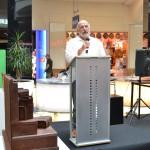 Ricardo Moraga presentado la exposición en Diagonal Mar