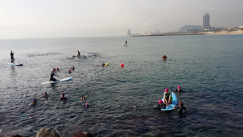 Los trabajadores de seis hoteles de Barcelona recogen 249Kg de residuos en el mar