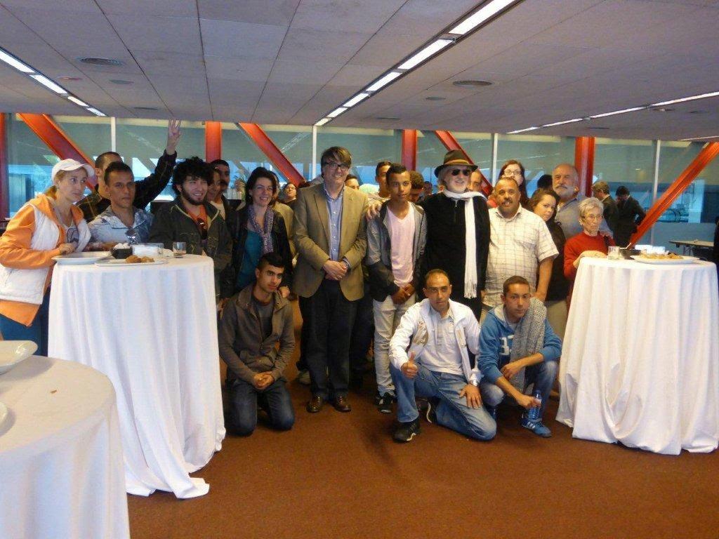 TALLER SOLIDARIO CON PUIGMARTÍ Y PRESENTACIÓN DE SU WEB EN EL CCIB – 2014