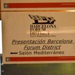 Presentación Barcelona Forum District - Sala Mediterráneo