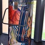 Papelera realizada con materiales reciclados por Josep Puigmartí