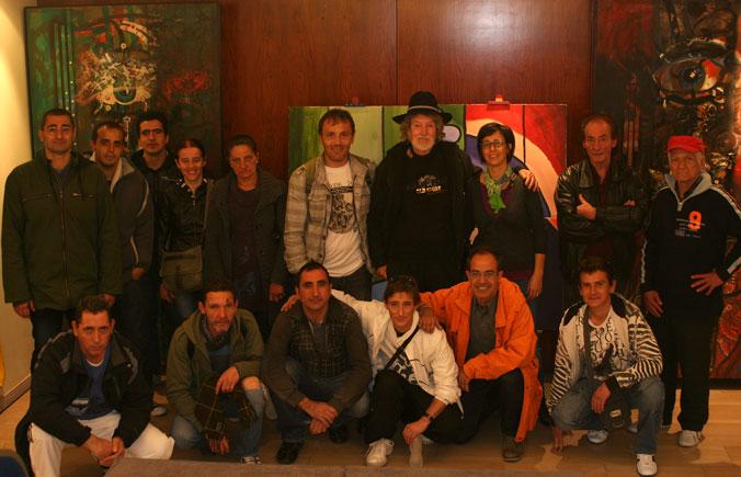 EXPOSICIÓN DE LOS ARTISTAS DE FUNDACIÓ TRINIJOVE EN SITGES –  2012