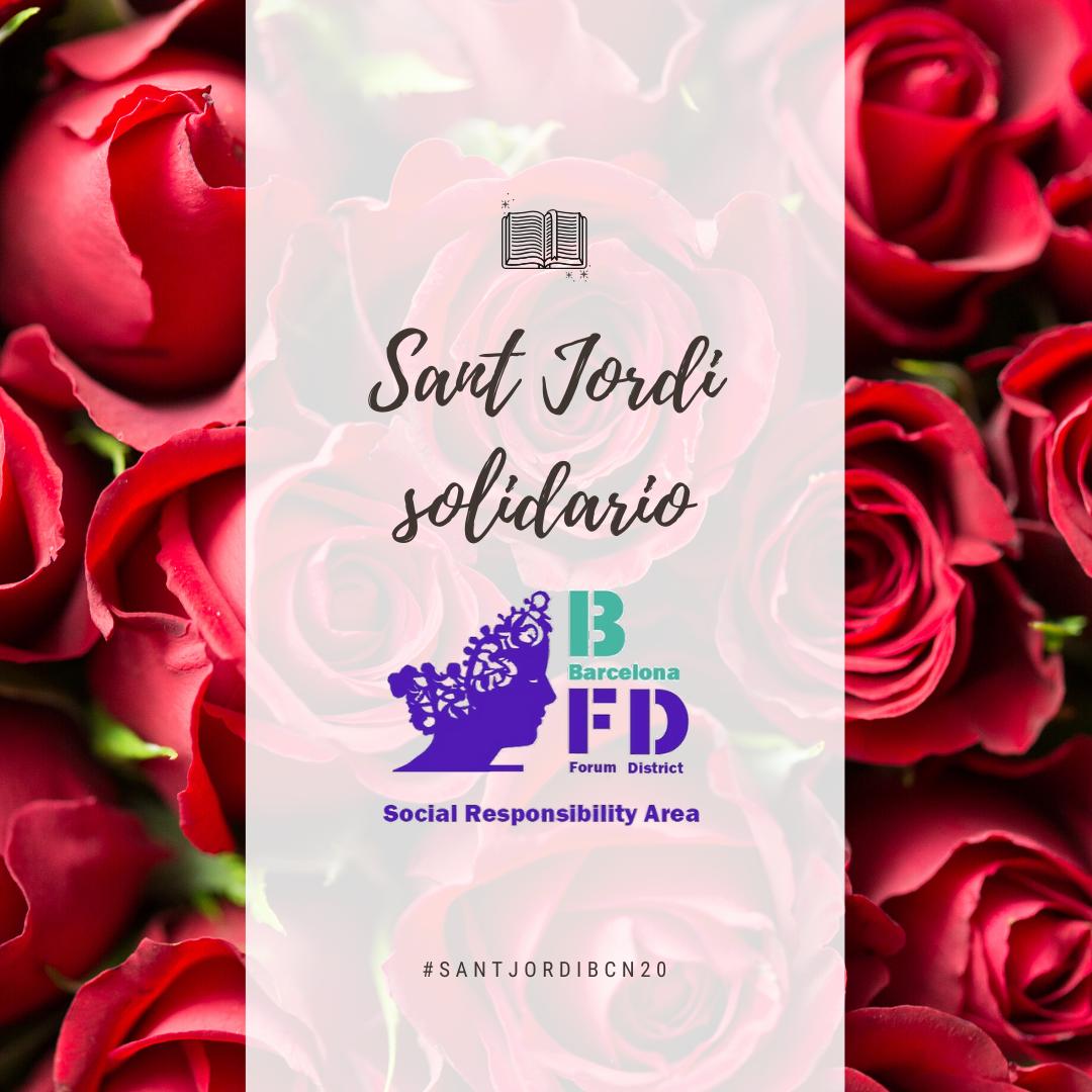 Iniciativas solidarias para este Sant Jordi