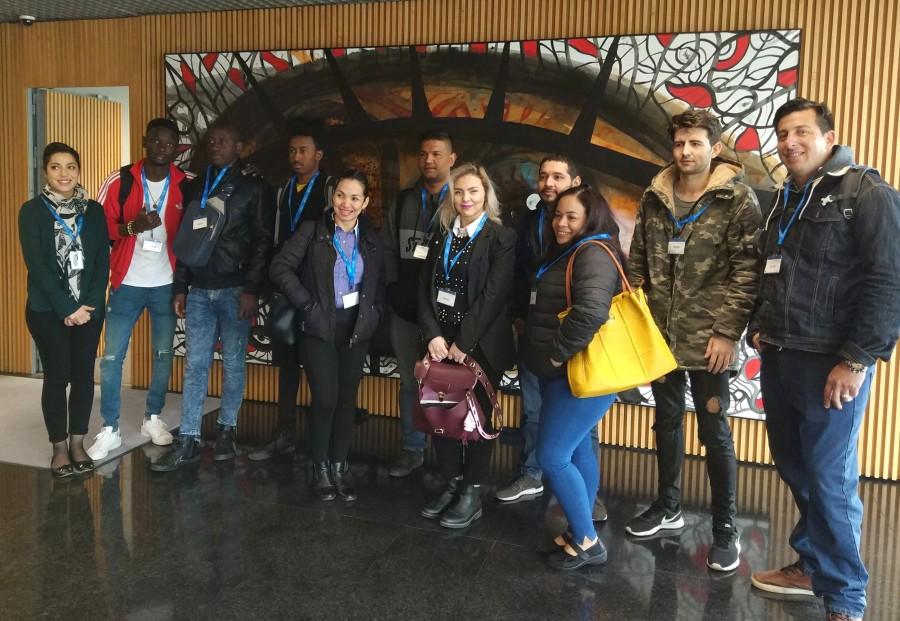 Visitas de la Comisión Catalana de Ayuda al Refugiado