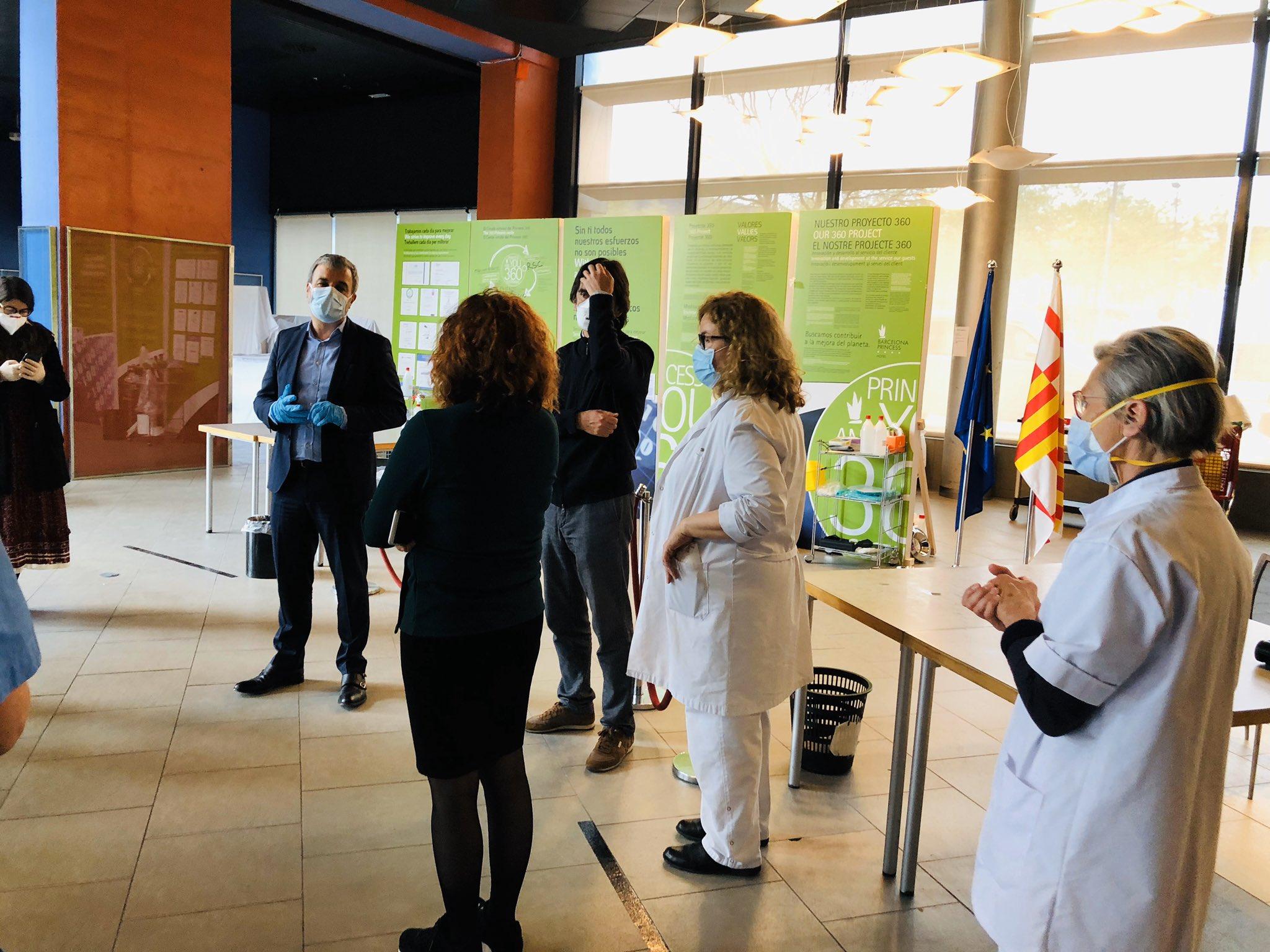 Barcelona Forum District frente al COVID-19
