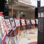 Cuadros realizados por el Taller de Arte Trinijove