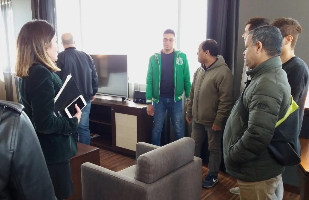 Hoteles y CCIB reciben la visita de usuarios de la CCAR