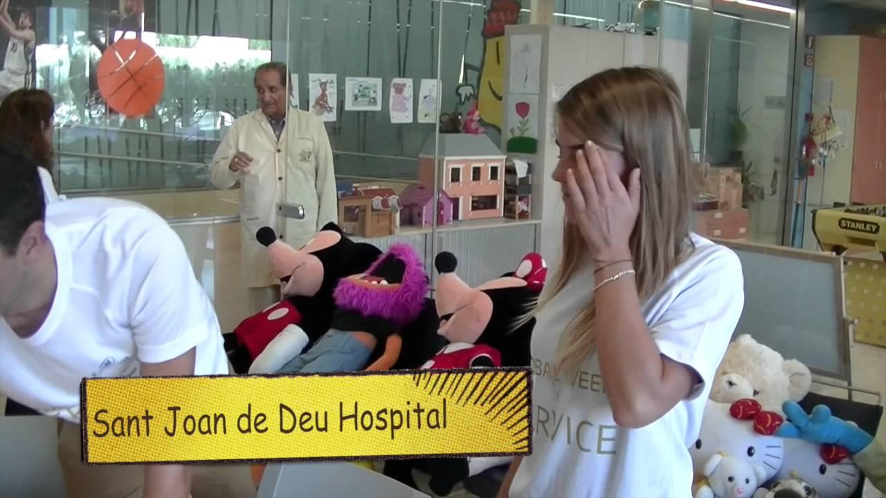 La Setmana Mundial del Voluntariado en el Hilton Diagonal Mar Barcelona