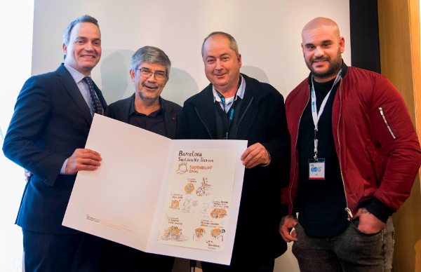 CCIB recibe un premio a las buenas prácticas en Sostenibilidad Social