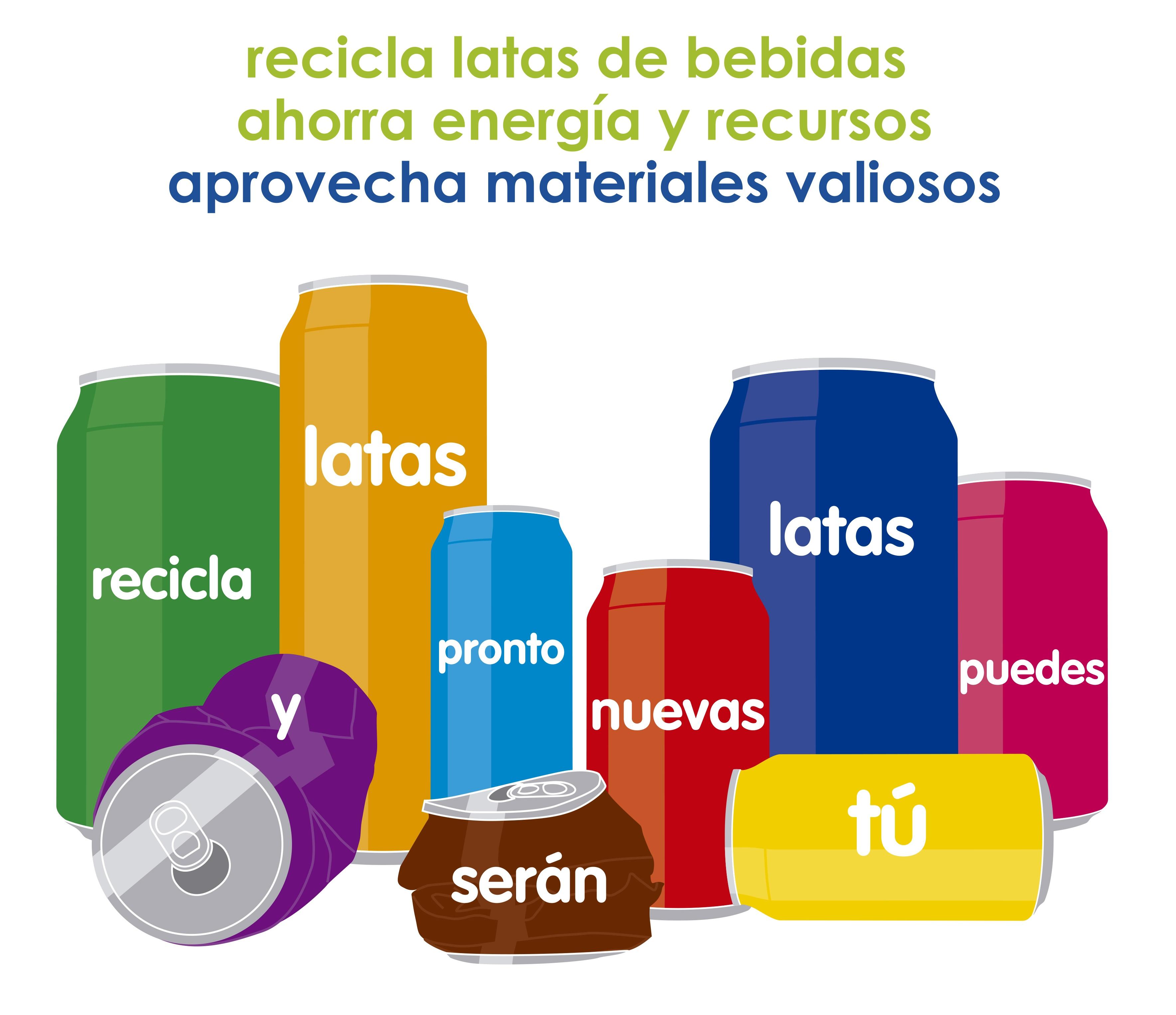 Campaña de recogida de latas de bebida en la zona Forum de Barcelona