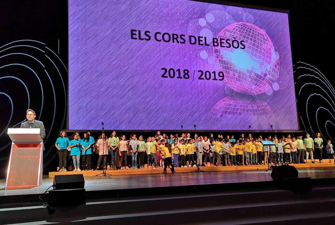 Los coros del Besòs cantan en el Auditorio – CCIB
